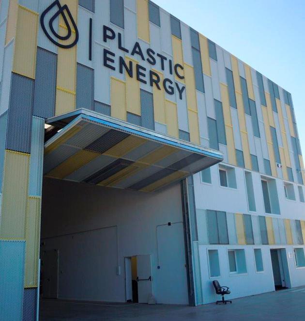 <span>Plastic Energy</span> Instalación y Almacenamiento