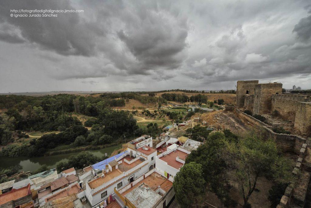 Paisaje de Alcalá de Guadaíra desde el Castillo - Foto de Ignacio Jurado Sánchez